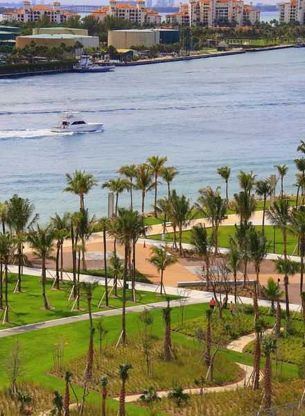 South Point Park & Fisher Island