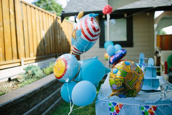 20150713 Savan Ghataurah 1yr Birthday