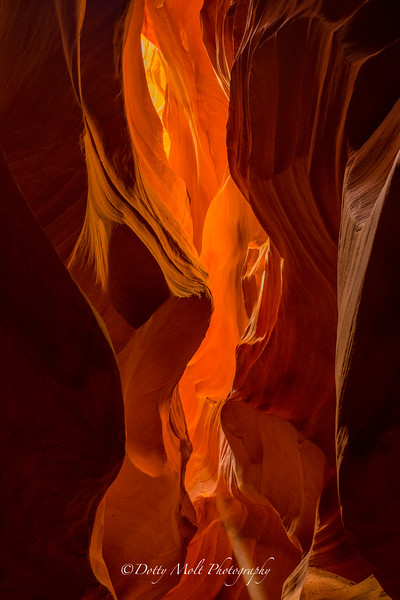 Lower Antelope slot canyon