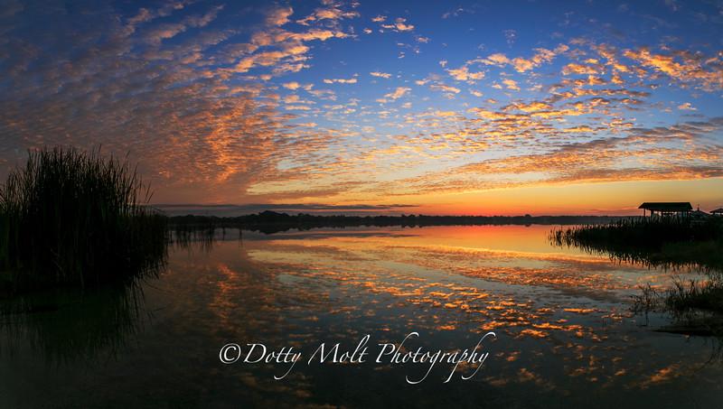 Lake Clay Sunrise