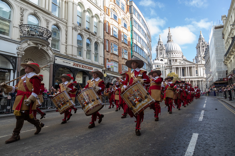 London, UK. 10 Nov, 2018. The procession for the Lord Mayor's Show