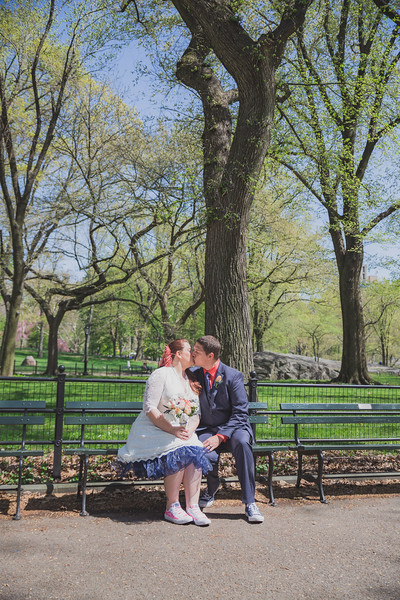 Lynn & David - Central Park Elopement-133