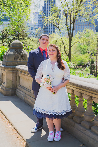 Lynn & David - Central Park Elopement-90