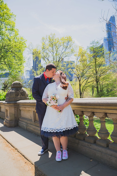 Lynn & David - Central Park Elopement-93