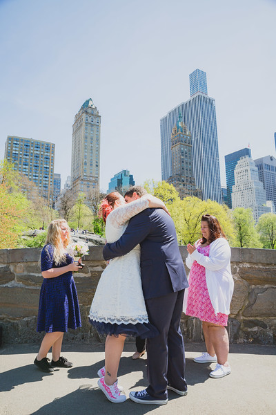 Lynn & David - Central Park Elopement-61