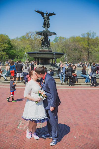 Lynn & David - Central Park Elopement-156