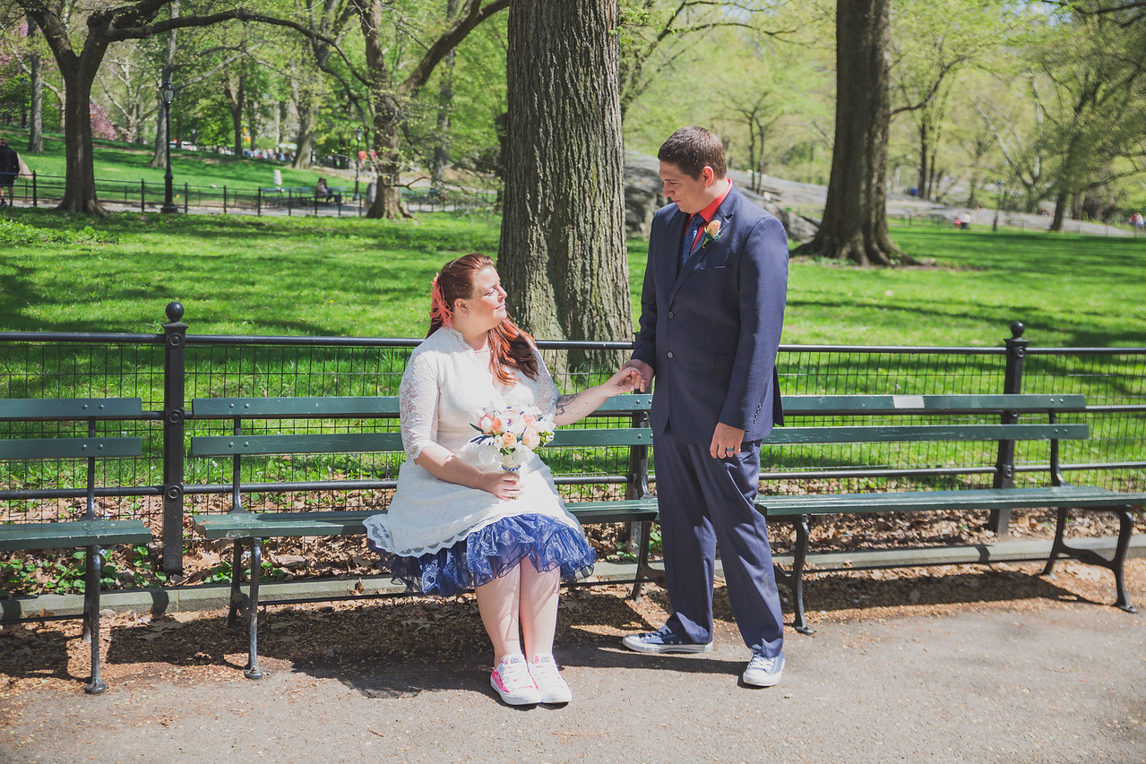 Lynn & David - Central Park Elopement-129