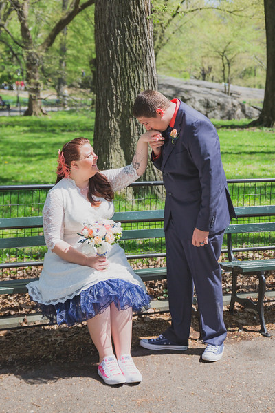 Lynn & David - Central Park Elopement-131