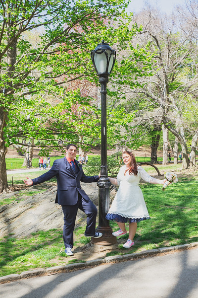 Lynn & David - Central Park Elopement-197