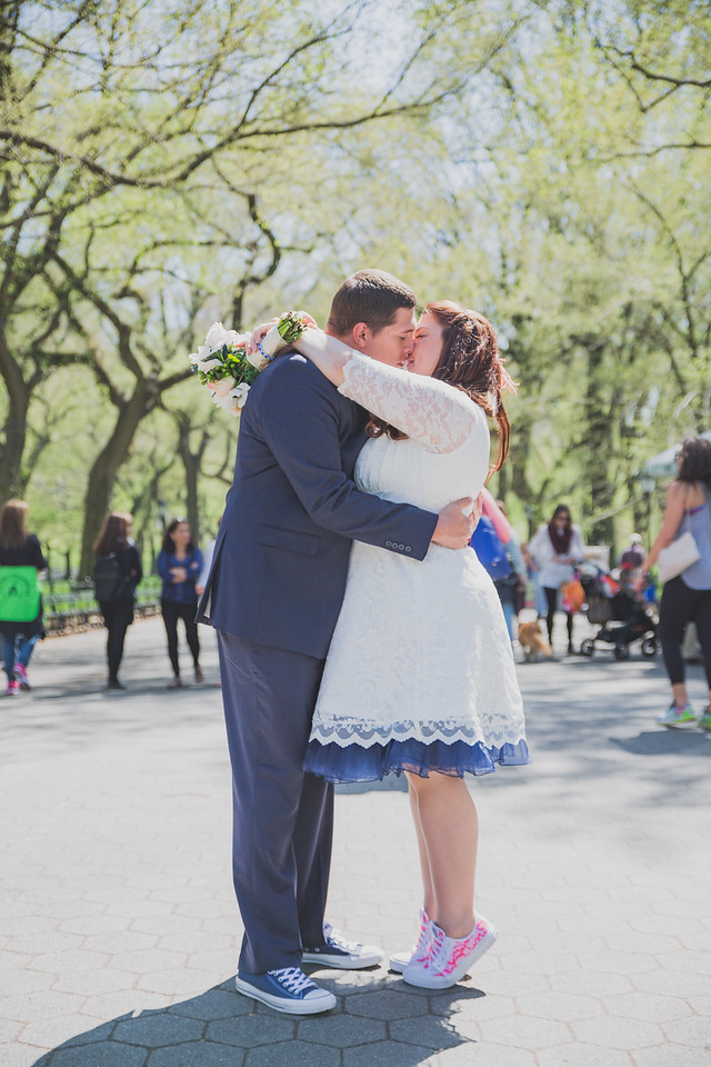 Lynn & David - Central Park Elopement-142