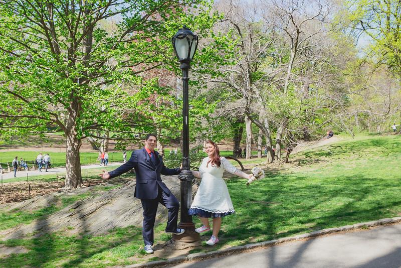 Lynn & David - Central Park Elopement-196