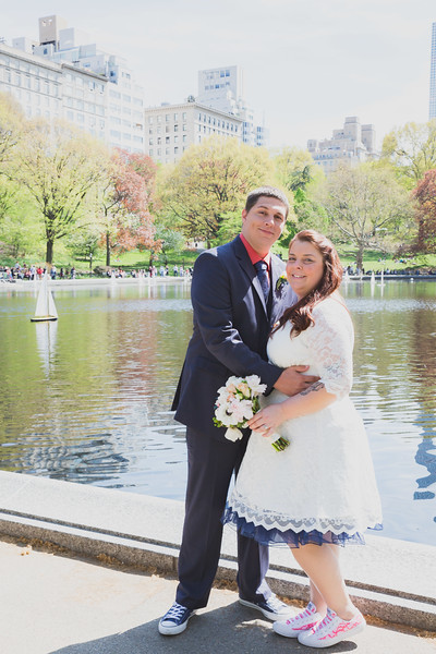 Lynn & David - Central Park Elopement-192