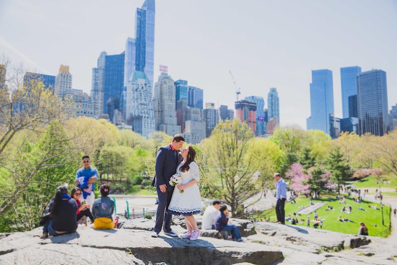 Lynn & David - Central Park Elopement-102