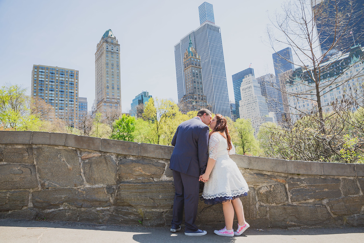 Lynn & David - Central Park Elopement-70