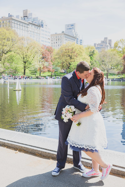 Lynn & David - Central Park Elopement-191