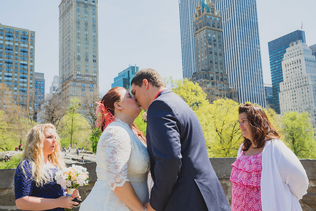 Lynn & David - Central Park Elopement-58