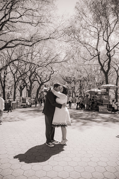 Lynn & David - Central Park Elopement-144