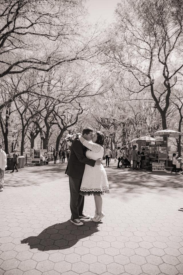 Lynn & David - Central Park Elopement-144