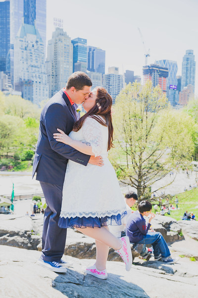 Lynn & David - Central Park Elopement-105