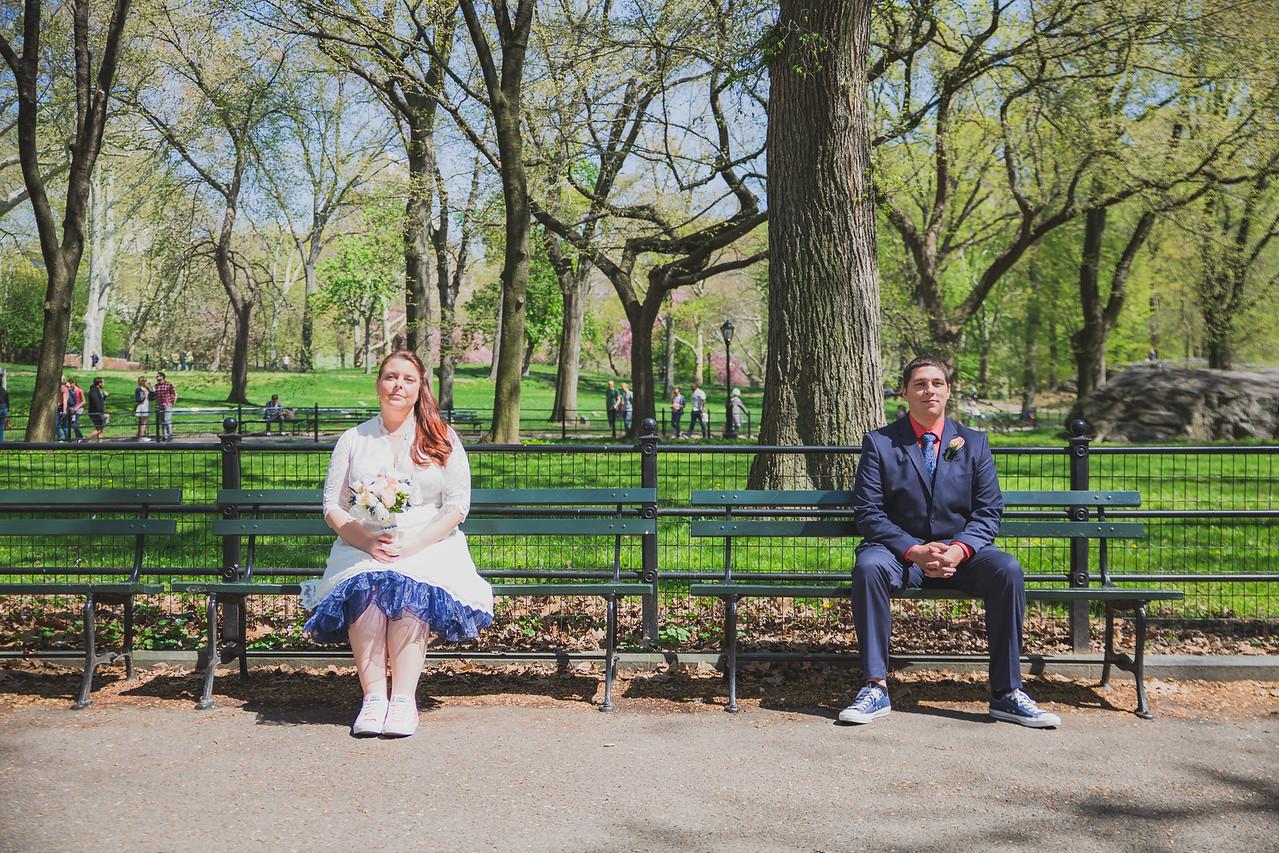 Lynn & David - Central Park Elopement-127
