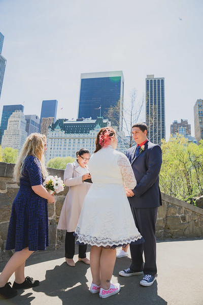 Lynn & David - Central Park Elopement-43
