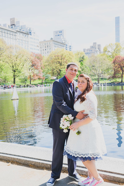Lynn & David - Central Park Elopement-193