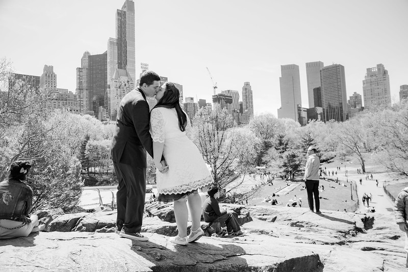 Lynn & David - Central Park Elopement-103