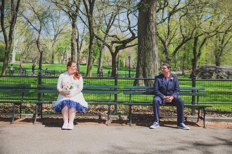 Lynn & David - Central Park Elopement-128