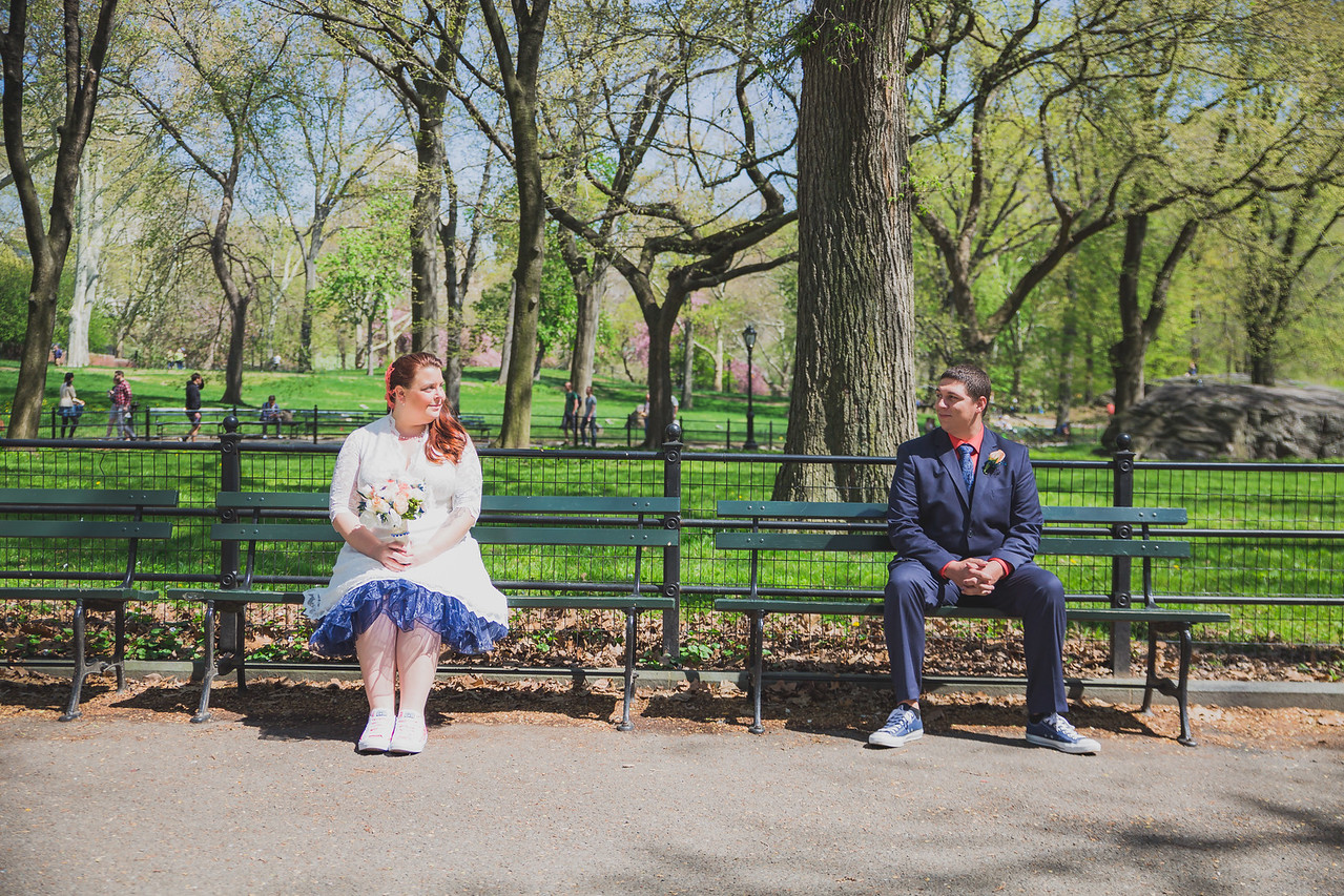 Lynn & David - Central Park Elopement-128