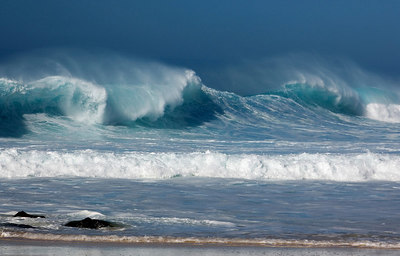 Ehukai Beach, North Shore, Oahu, Hawaii
