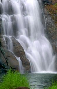 Close-up of Waimae Falls