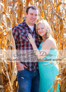 front of save the date