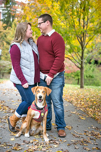 Meagan & Josh's engagement photography at EKU in Richmond,KY 10.26.15.   © 2015 Love & Lenses Photography/ Becky Flanery   www.loveandlenses.photography