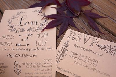 Marcus and Megan Beckley West Virginia Wedding Photography