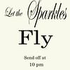 sparkles fly
