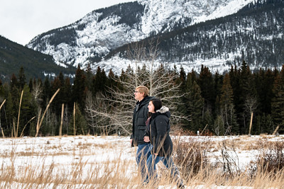 Ben & Mia Engagement Canmore