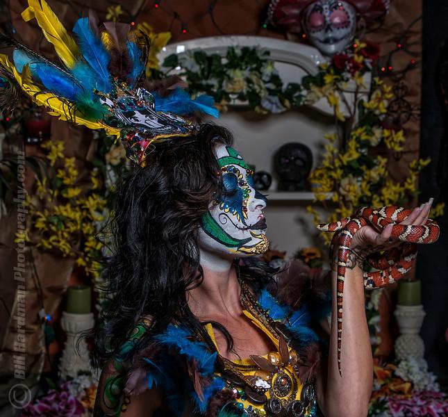 Photographer: Bill Hardman Photography<br /> Model: Darah Pritchard<br /> MUA: Ivonne Toc<br /> Stylist: Katie Ingram Nash<br /> Snakes provided by Ark Exotics