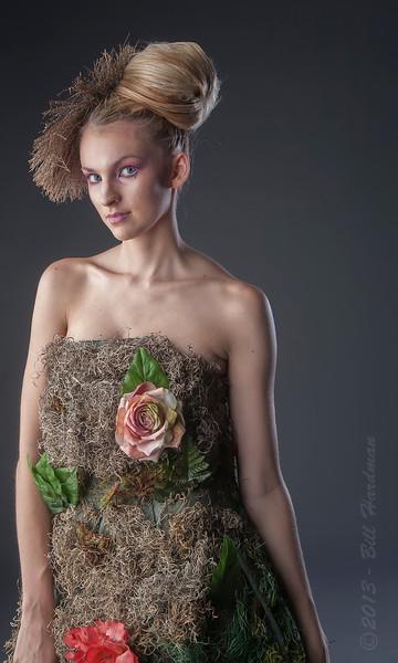Model: Holley Turner<br /> Designer: Sara Macias<br /> MUA & Hair: Ryan Romero<br /> Flowers: Veranda Flowers, Gifts, and Events and El Paso Floral<br /> Photographer: Bill Hardman