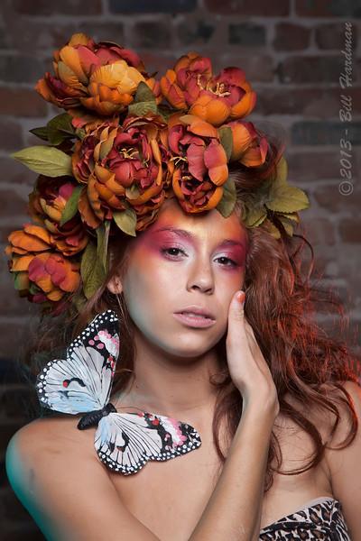 Models: Melissa Nieto<br /> Designer: Salvador Castaneda<br /> MUAH: Prisilla Chavez<br /> Flowers: Veranda Flowers, Gifts, and Events and El Paso Floral<br /> Photographer: Bill Hardman