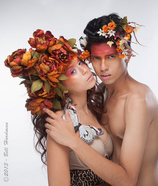 Models: Melissa Nieto & Carlo Barrera<br /> Designer: Salvador Castaneda<br /> MUAH: Prisilla Chavez<br /> Flowers: Veranda Flowers, Gifts, and Events and El Paso Floral<br /> Photographer: Bill Hardman