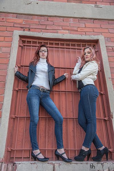Melissa Nicole Escobar and Samie Escriche