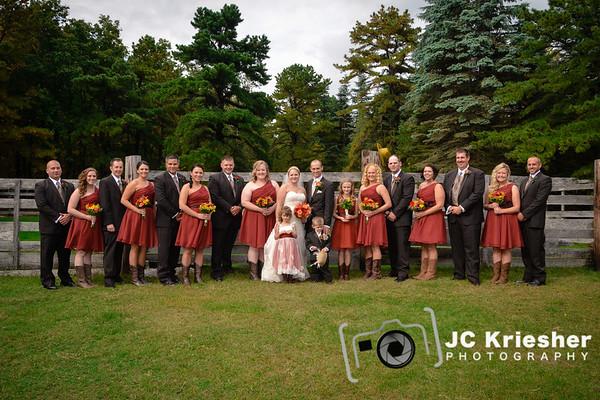 Mr. & Mrs. Thomas Ward III - October 4, 2014