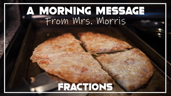 Morning Messages - Fractions