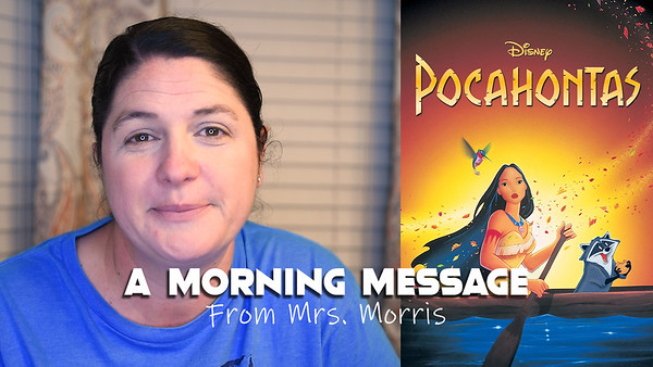 Morning Messages - Pocahontas