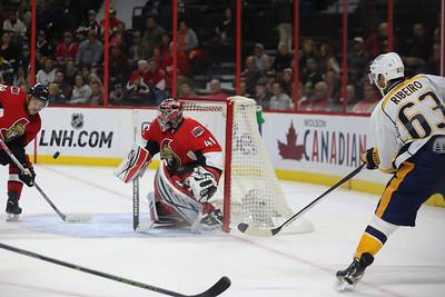 NHL 2015: Predators vs Senators OCT 17
