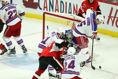 NHL 2015: Rangers vs Senators NOV 14