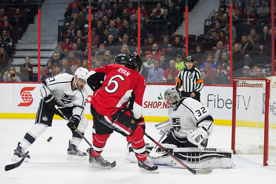 NHL 2015: Kings vs Senators DEC 14