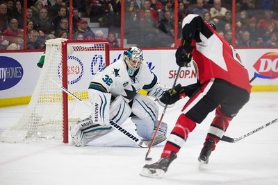 NHL 2015: Sharks vs Senators DEC 18
