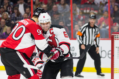 NHL 2015: Devils vs Senators DEC 30