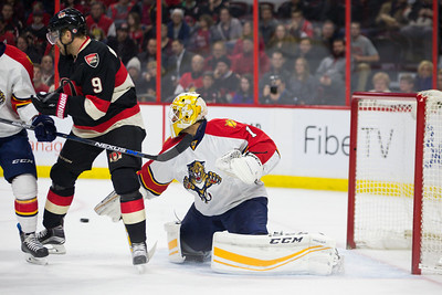 NHL 2016: Panthers vs Senators JAN 07